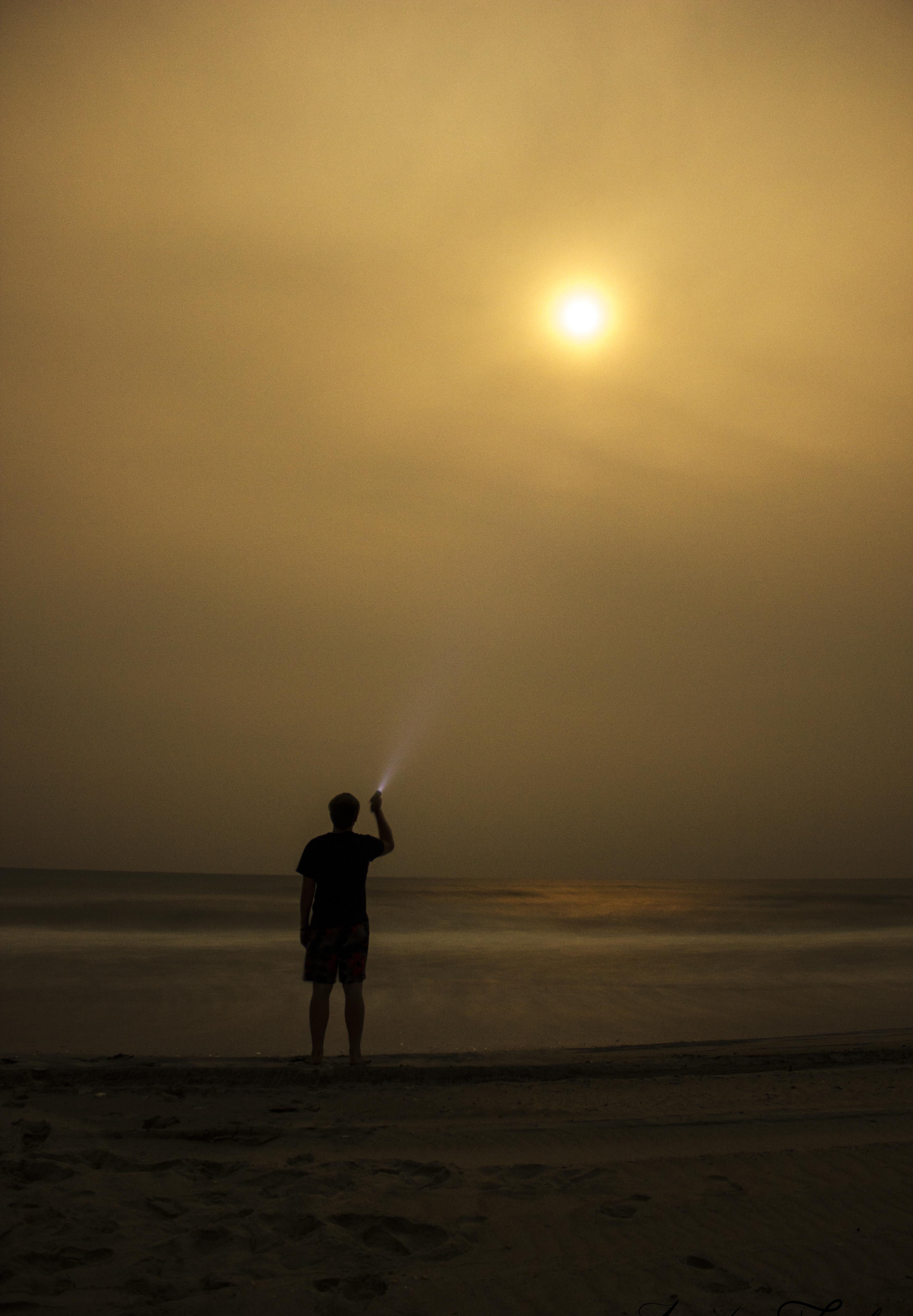 Mike Flashlight Moon