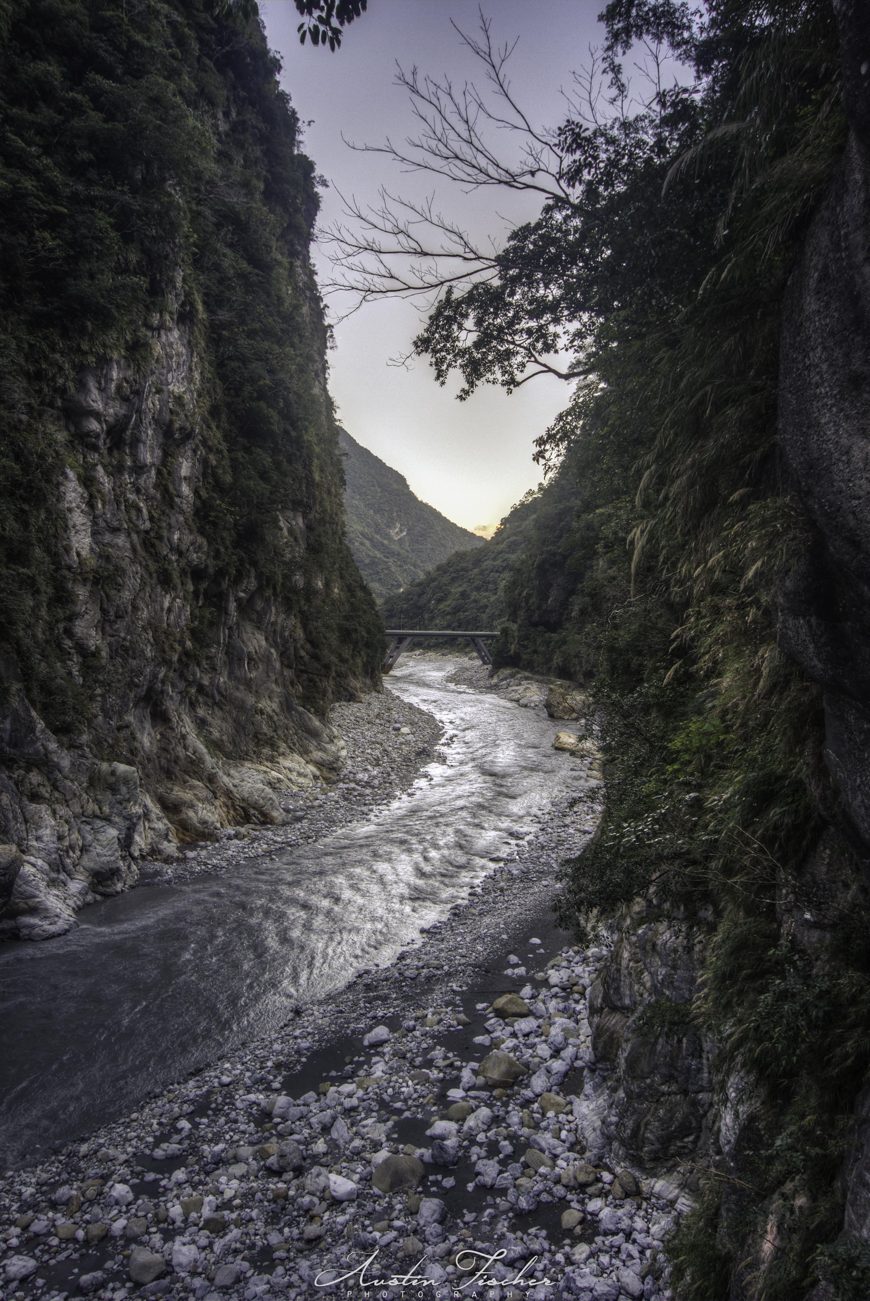 Taroko River Sunset