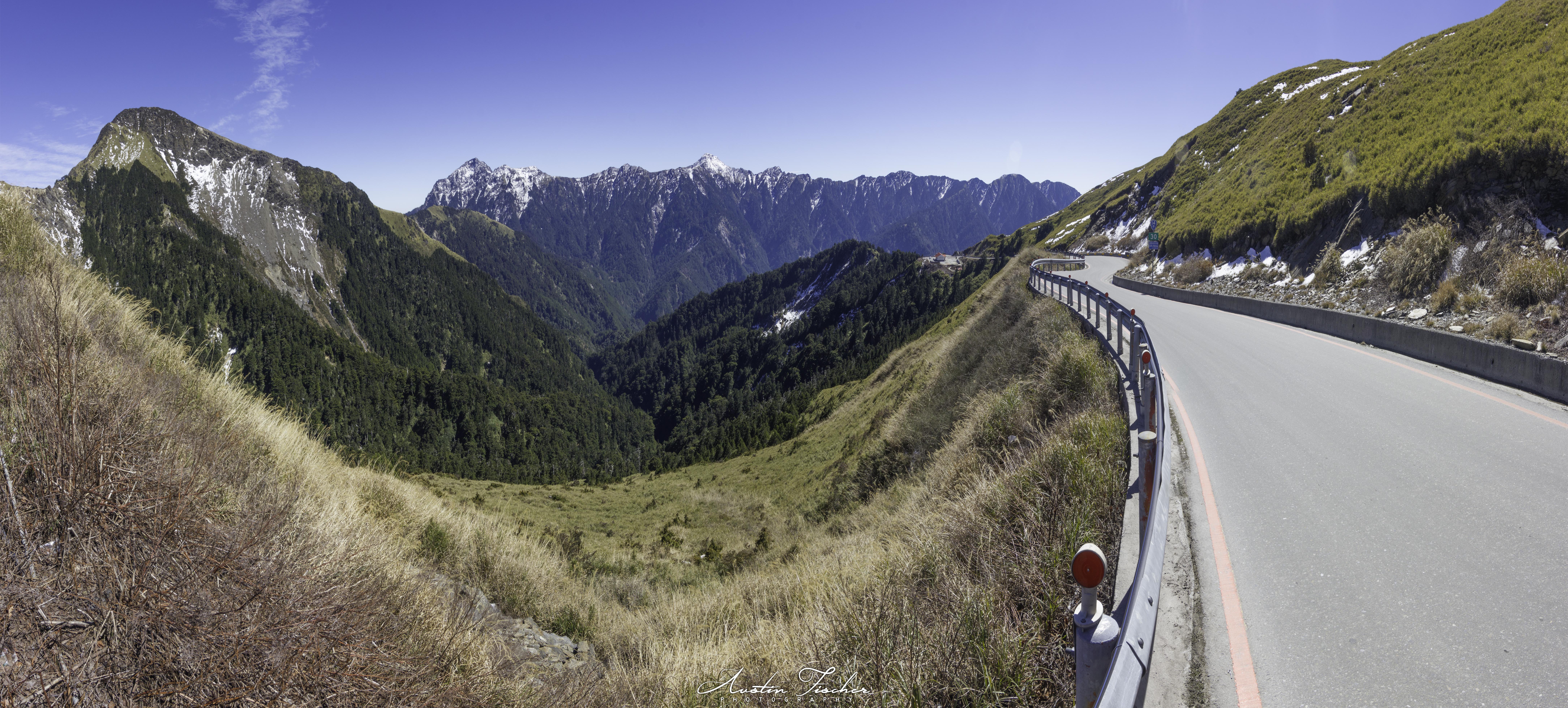Hehuanshan Highway Pano