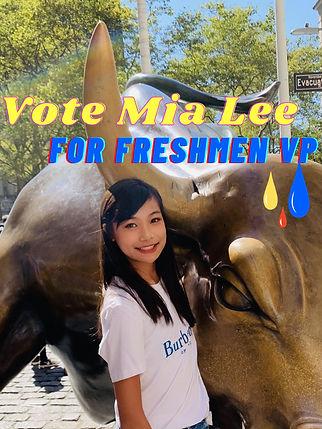 Mia Lee - Freshmen VP Poster (2) - Mia L