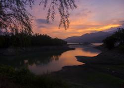 Dapu Lake Cove Sunset