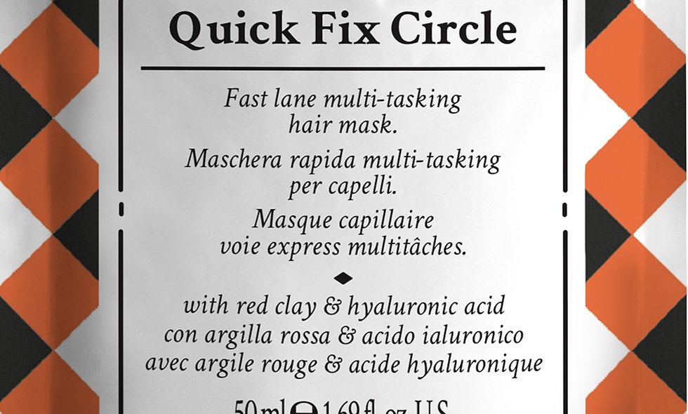 The Quick Fix Circle Hair Mask