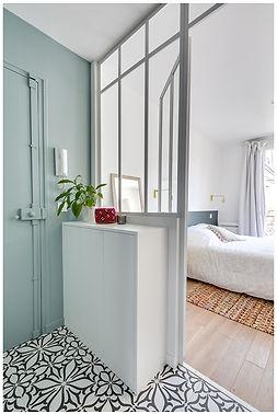 rénovation d'un appartement à Paris 11ème par les architectes du laboratoire