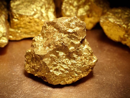Gold - it continues to glisten