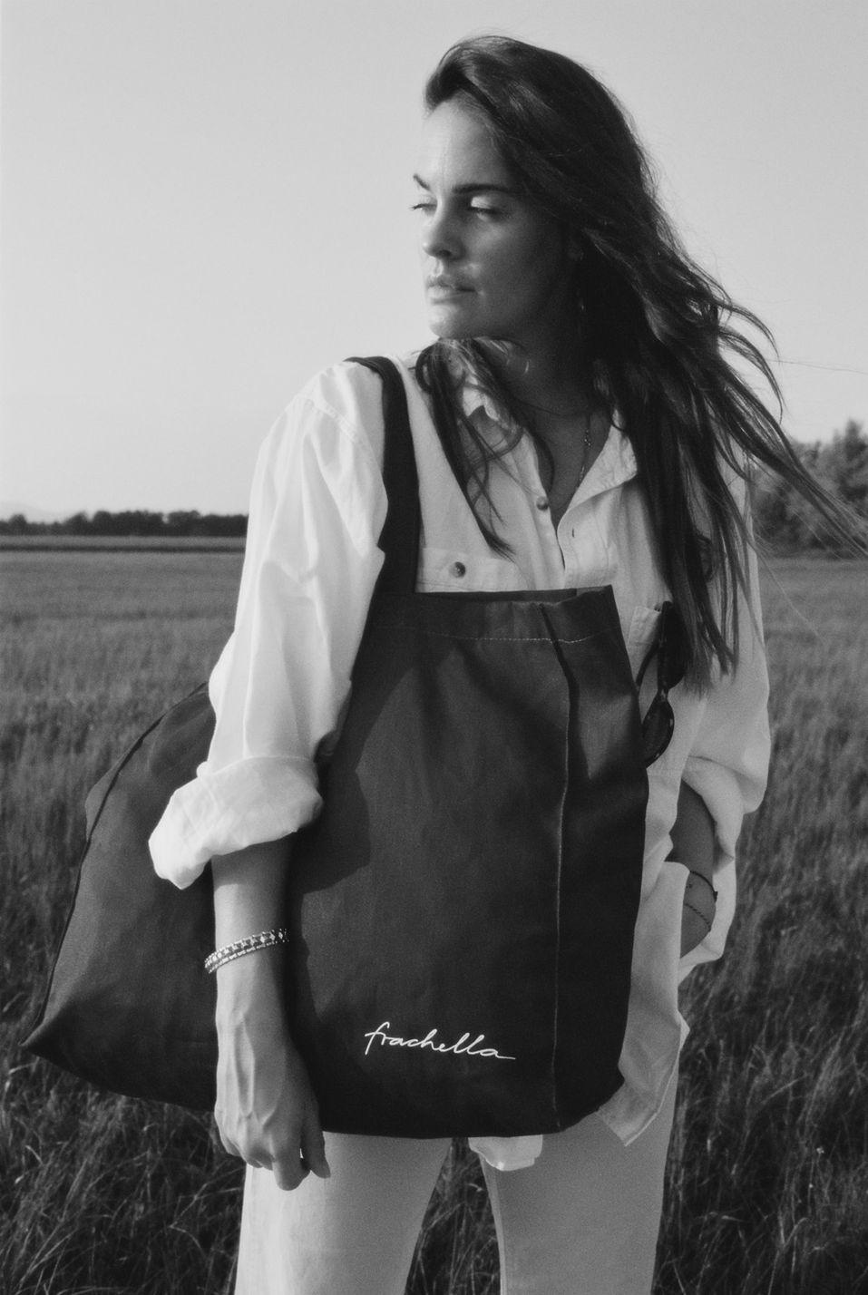black and white photo of mateja skraba by mark kucler for frachella