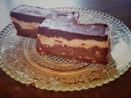 קוביות שוקולד קוקוס ושקדים
