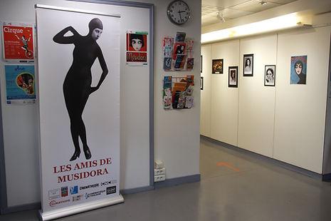 Exposition Musidora à Bercy