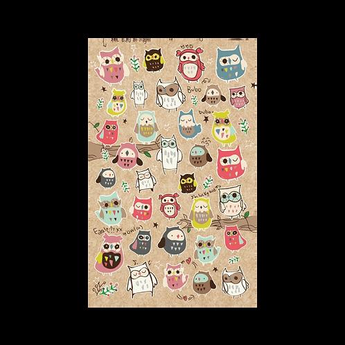 Sticker - Baykuşlar Bubo