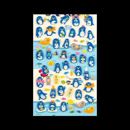 Sticker -Penguenler