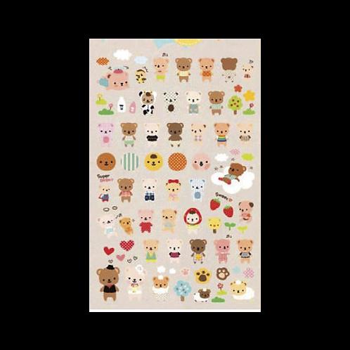 Sticker - Ayıcıklar