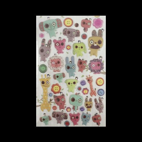 Sticker - Bebek Yaratıklar
