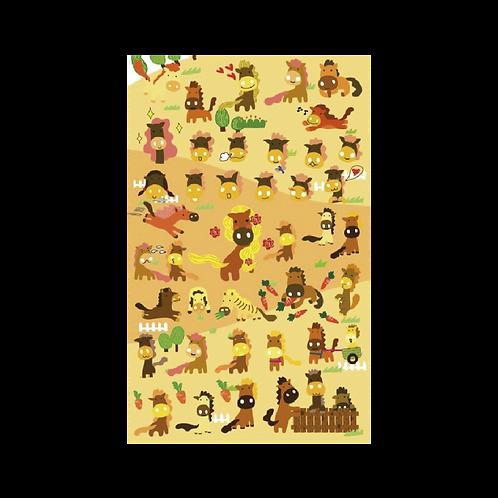 Sticker - Atlar
