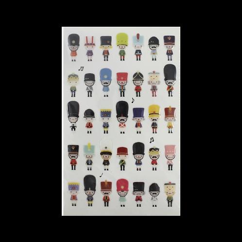 Sticker - Sevimli Oyuncak Askerler