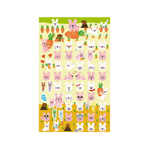 Sticker - Sevimli Tavşanlar