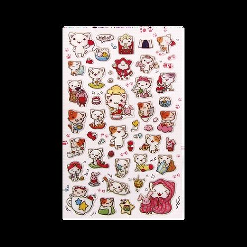 Sticker -Küçük Kedi
