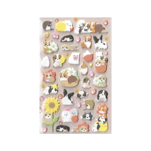 Sticker - Şirin Köpekler