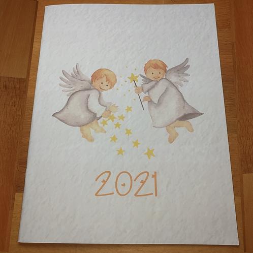 2021 Aylık Ajanda - Planlayıcı