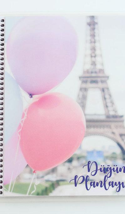 Düğün Planlayıcısı - Paris Kapak
