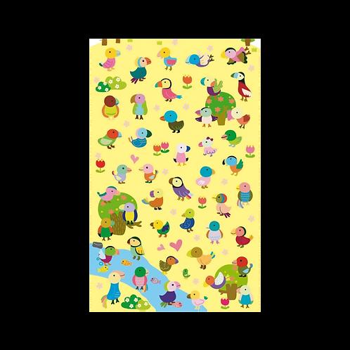 Sticker - Papağanlar