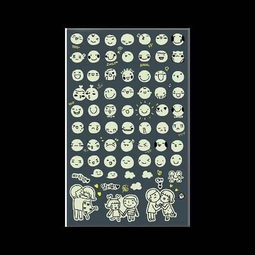 Sticker - Beyaz Smile