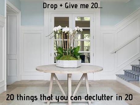 Declutter Drills