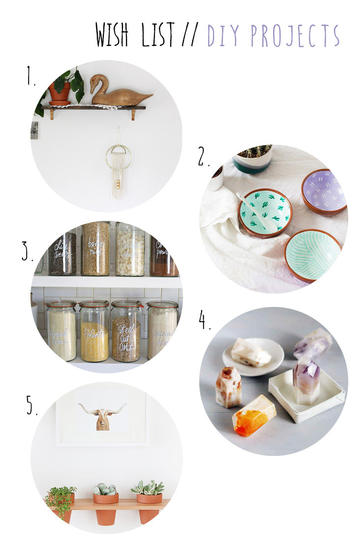 DIY project to do list home staging