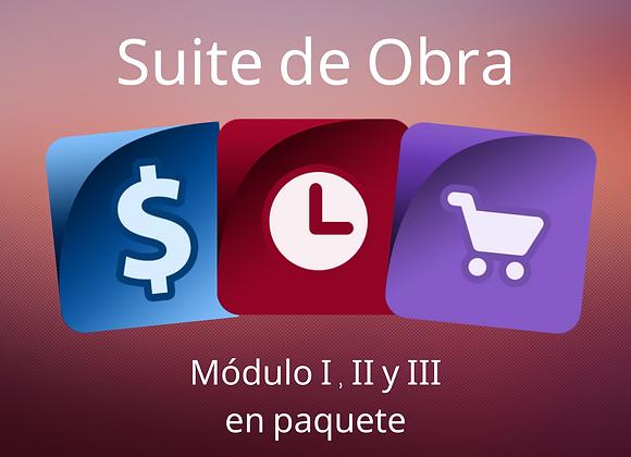 Opus20 Suite de Obra EN RENTA  (IVA no incluido)