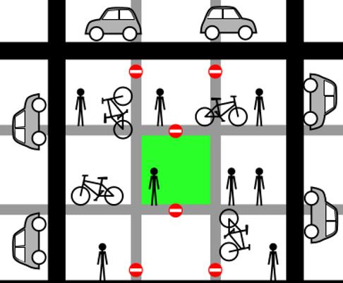 low traffic environment