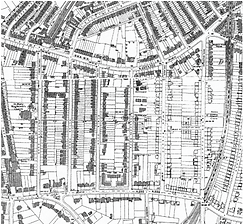 Map of the East India Estate