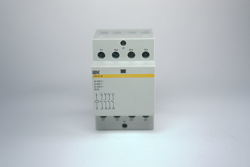 Contactor, Magnetic Starter 63A. With AC 230 V coil