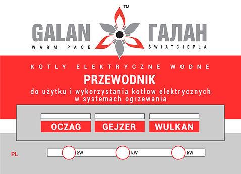 Instrukcje okładek dla kotłów Galan