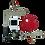 Thumbnail: Hydrauliczny zestaw wiszący naścienny z kotłem elektrodowym Ognisko 2, 3, 5 lub 6 do instalacji grzewczej.