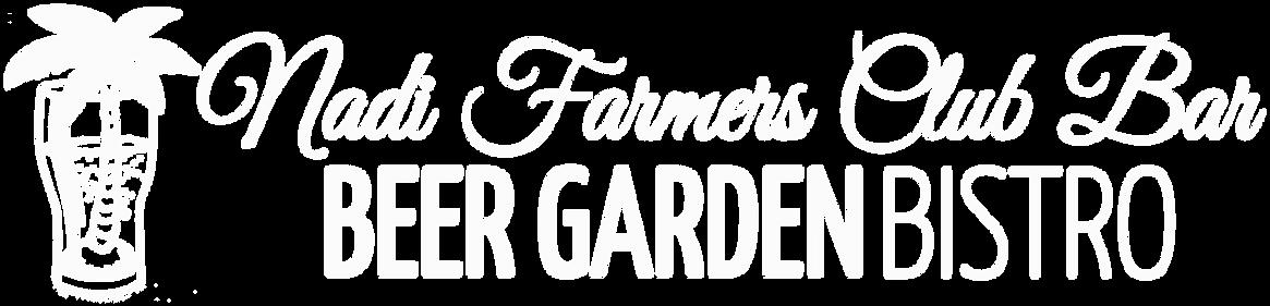 NADI FARMERS CLUB BAR LOGO with palm tre