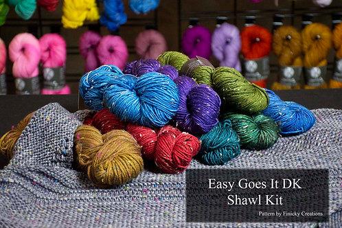 Easy Goes It DK Shawl Kit