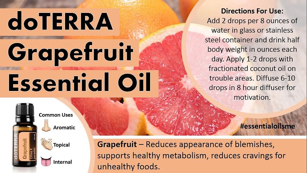 doterra grapefruit detox ocista esencialne oleje chudnutie danaarvay