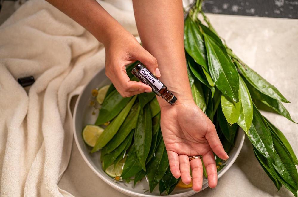 doterra magnolia esencialne oleje parfem laska danaarvay magicke