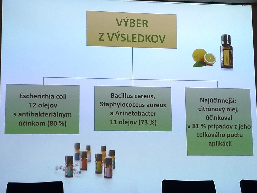 doterra vyskum atb antibiotika virusy bakterie esencialne oleje danaarvay