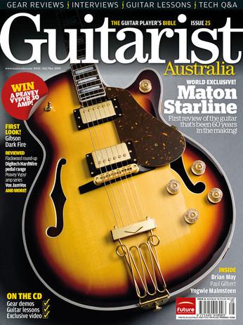 Guitarist cover