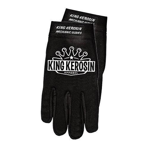 King Kerosin Logo Mechanic Gloves