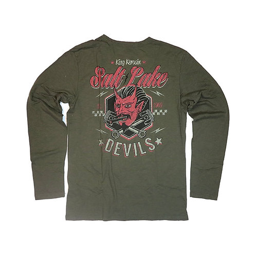 King Kerosin Salt Lake Devils Long Sleeve Shirt