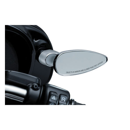 Kuryakyn Teardrop Mirror Set for Fairings