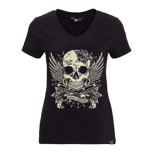 Queen Kerosin Dont Play With Death Ladies T-Shirt