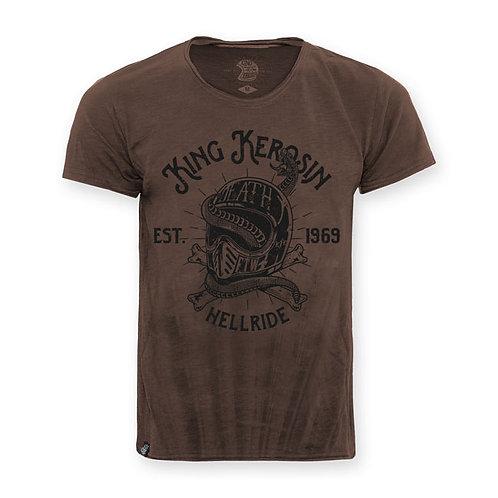 King Kerosin Hellride Snake T-Shirt
