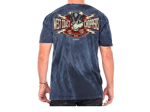 West Coast Choppers Spark Vintage T-Shirt