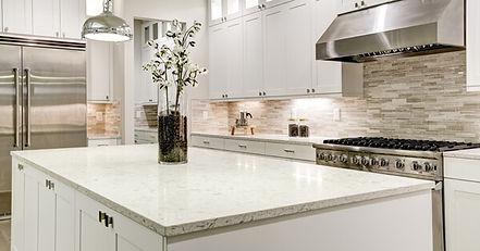 kitchen counter and backsplash renovatio
