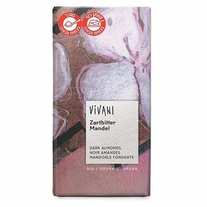Bitter Almond Chocolate 100g Vivani