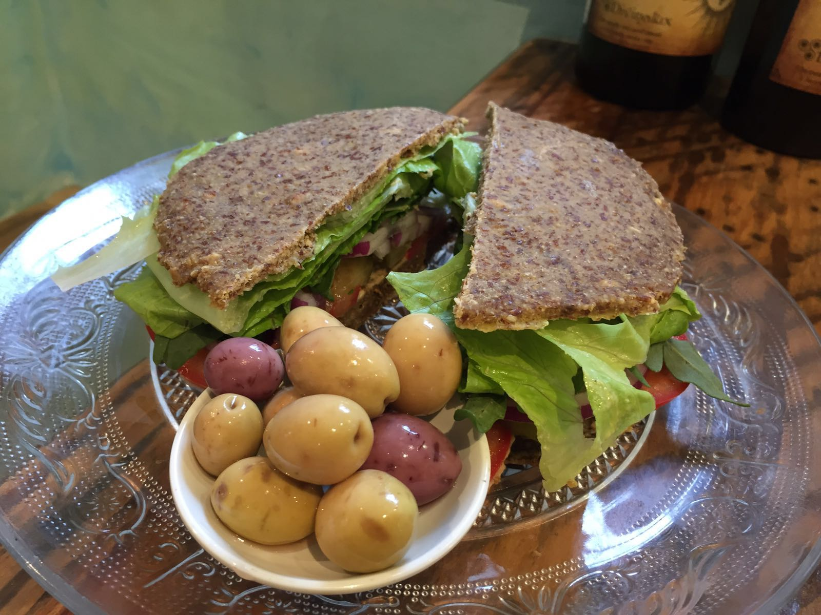 Vegan Gluten-free Burger