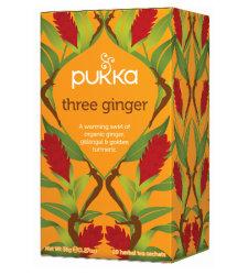 Tea Three Ginger Pukka