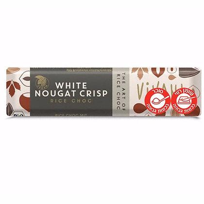 White Nougat Crisp Chocolate 35g Vivani