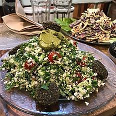 Falafel-Tabouleh
